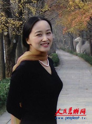 美女书法家:韦斯琴作品欣赏 女书法家张莉