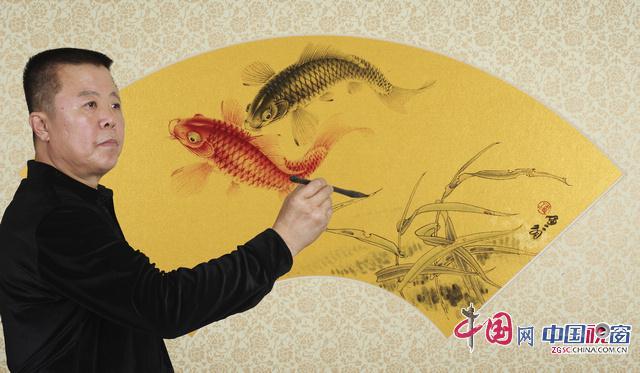 """潘晓鸥先生的画作具有很强的艺术个性,素有""""津门实力派画家&"""