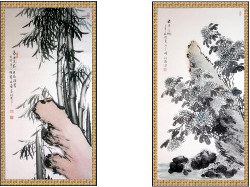 张治国--著名书画家献礼建国65周年(组图)图片