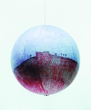 (组图)用圆珠笔做前卫艺术 - 人民美术网 - 中国艺术