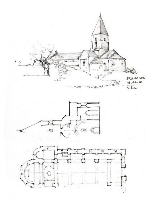 欧式建筑速写欣赏(组图)