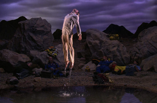 Bill Viola,Going Forth By Day (détail),2002年