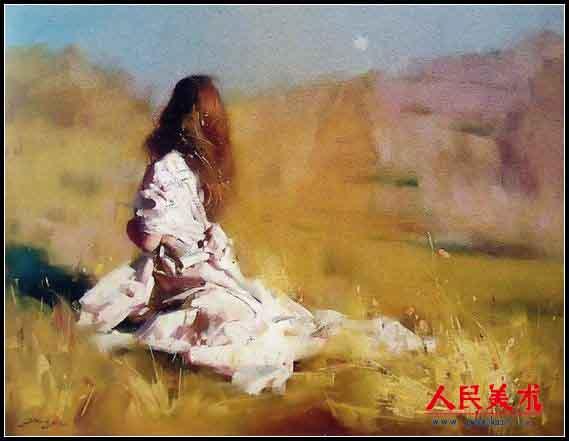 吴兆铭油画作品欣赏