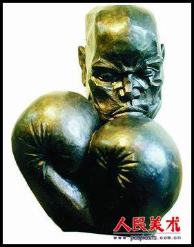 陈桂轮雕塑作品欣赏