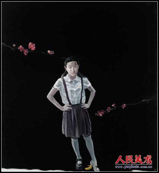 初次看到画家陈海的作品是在我第二次踏入深圳22艺术区时,他的画着