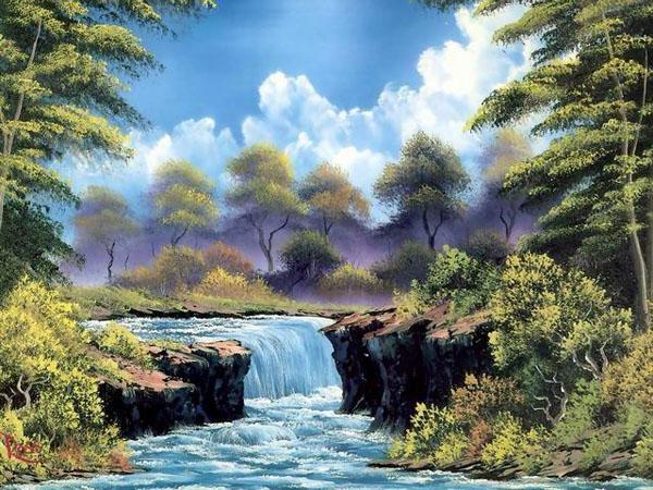 风景油画作品欣赏