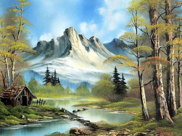 风景油画作品欣赏 - 人民美术网 - 中国艺术门户网站