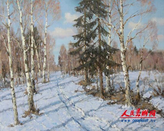 俄罗斯艺术家alexander kremer的风景画欣赏