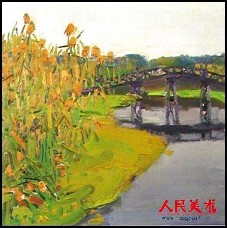 王琨油画作品欣赏