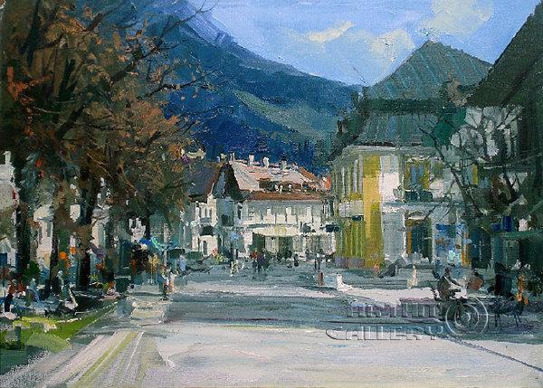 印象派画家:亚历山大·杜波夫斯基作品欣赏