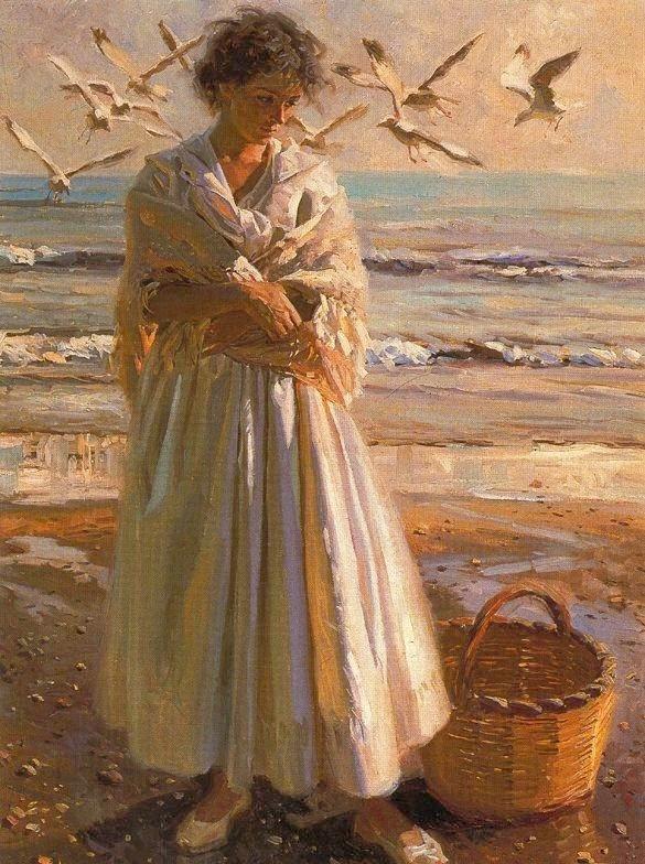 西班牙画家;岗萨雷斯.Alacreu作品欣赏