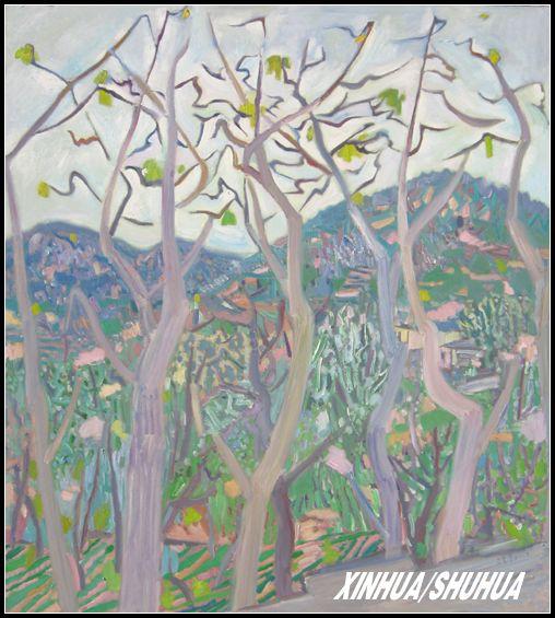 王克举风景油画作品欣赏