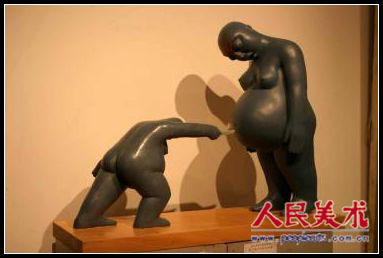 何力平雕塑作品欣赏