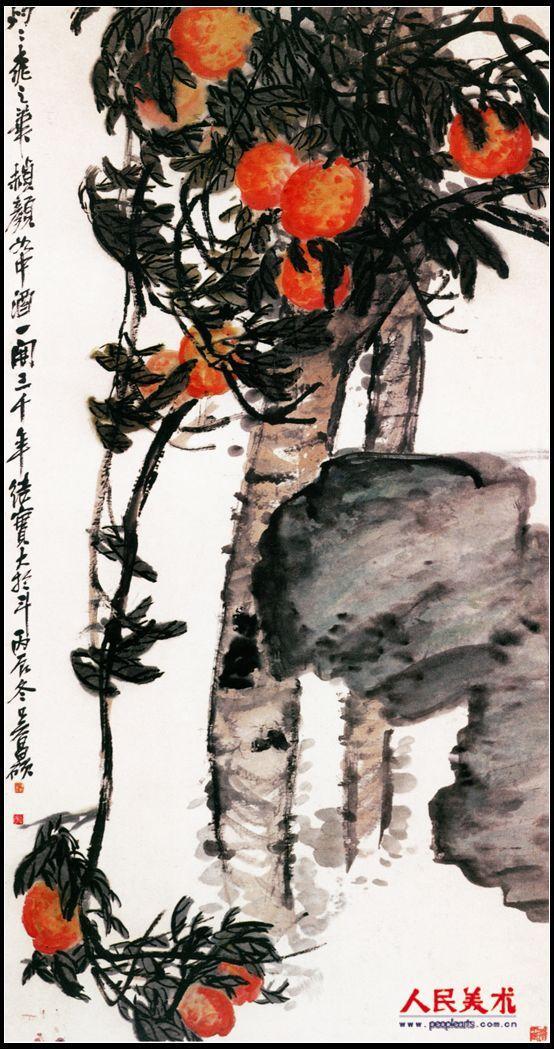 吴昌硕国画作品欣赏图片
