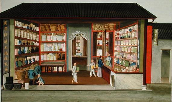 (组图)古代店铺室内设计绘本欣赏