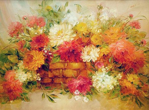 乌克兰Anna Homchik油画作品欣赏 乌克兰美女在长沙