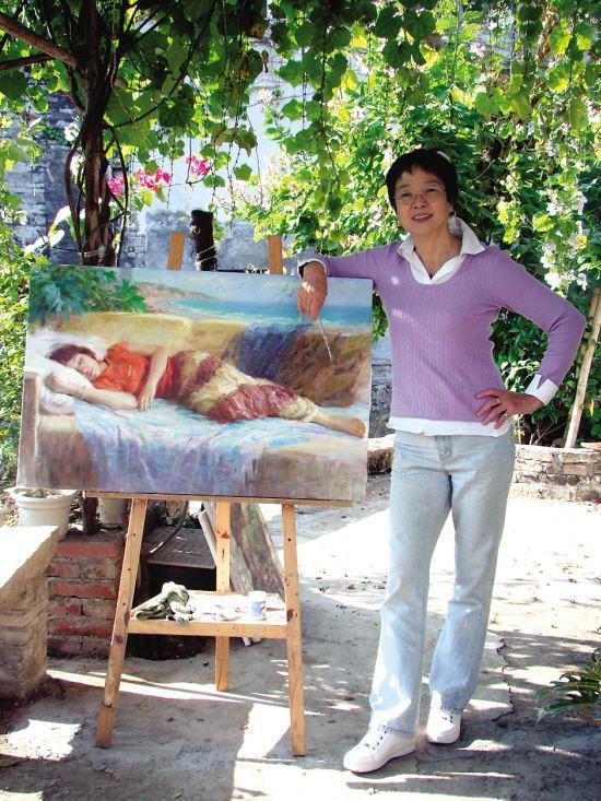 张霭维油画作品欣赏