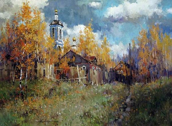 俄罗斯风景油画合集