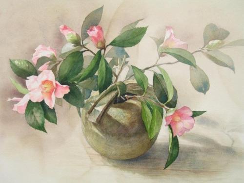 手绘水彩作品欣赏
