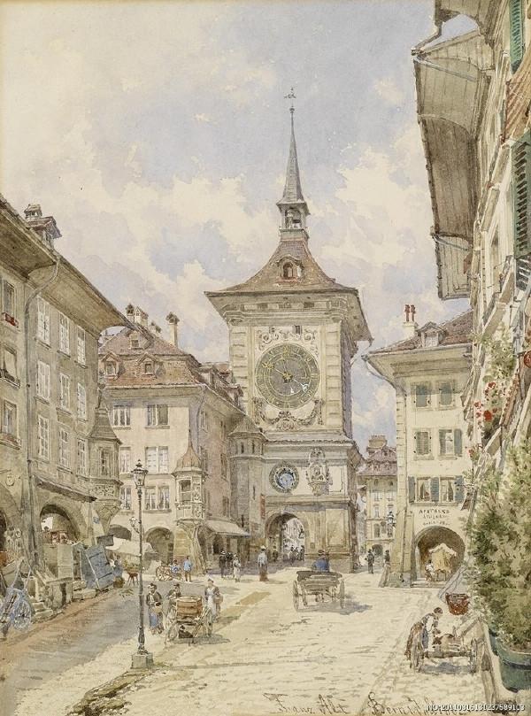 (组图)欧洲古典建筑水彩