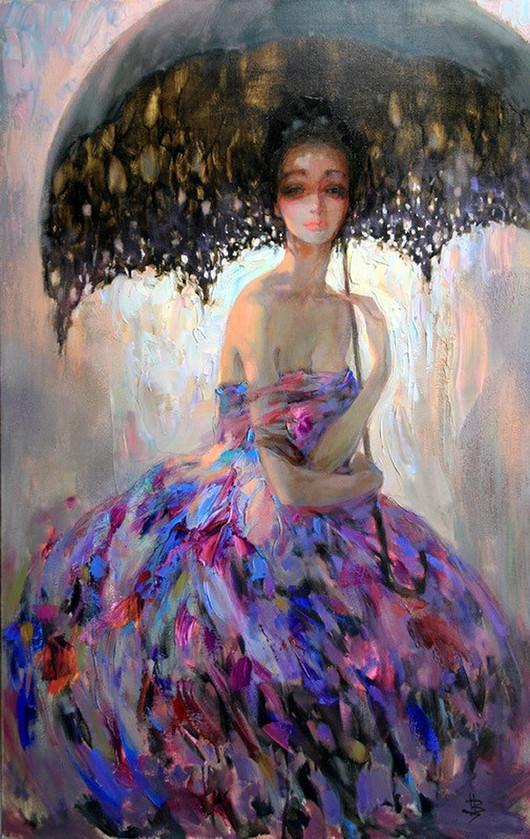 安娜·斯卡菲娜作品欣赏