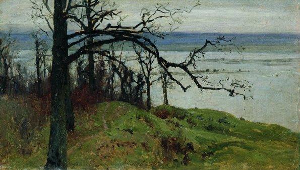 列维坦油画欣赏