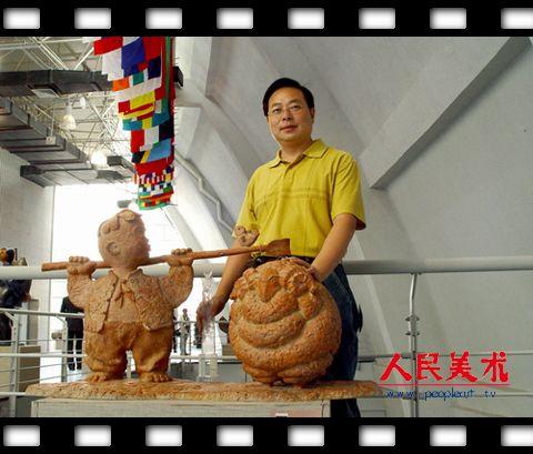 胡冰雕塑作品欣赏