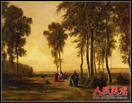 俄国著名画家希施金油画作品欣赏
