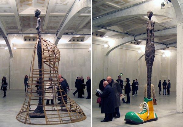 Prada米兰艺术展 联手艺术家造时尚雕塑