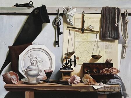 青年女画家米巧铭油画作品欣赏——静物风景系列