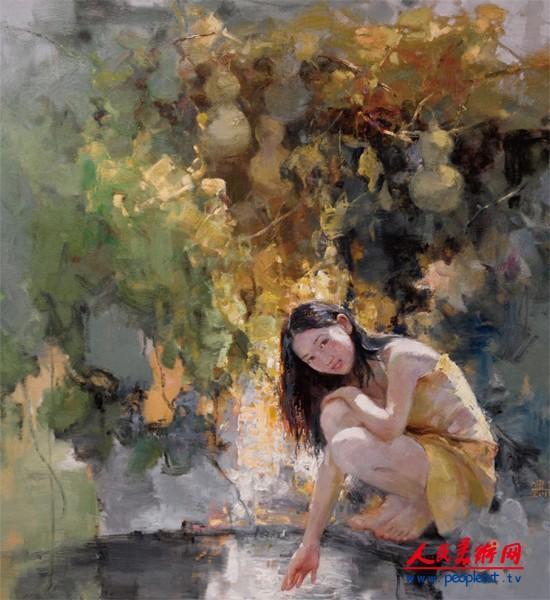 贾见罡油画作品欣赏