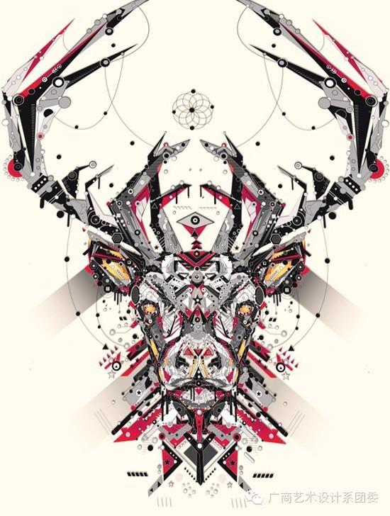 az动物插画设计艺术手绘作品欣赏
