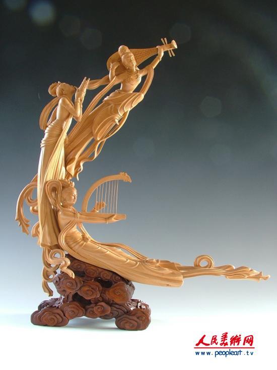 木雕大师王笃芳作品欣赏