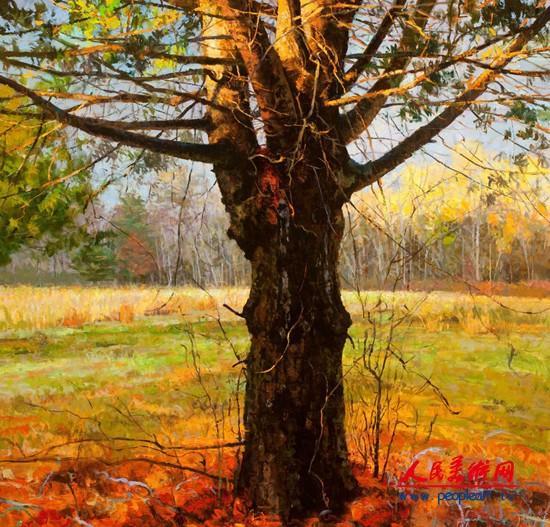 美国画家彼得·菲奥雷风景油画作品选集