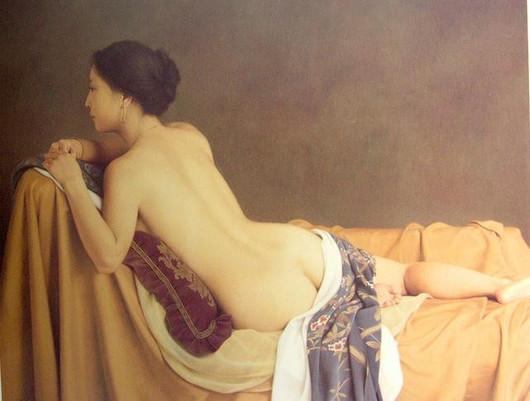 日本新古典主义绘画:森本草介作品欣赏图片