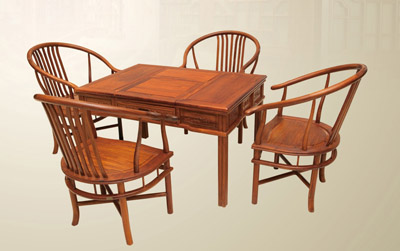 大行木制工艺桌子