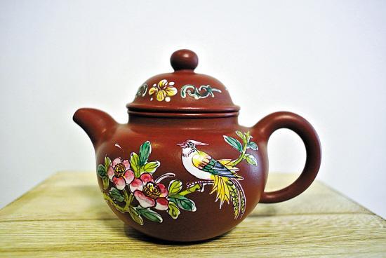 潮州宜兴壶可否媲美朱泥紫砂壶(视频)艺器爱组图图片