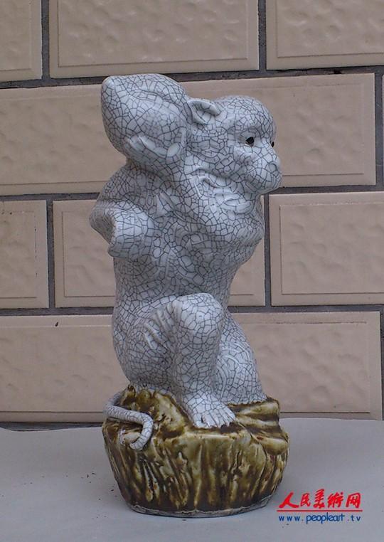 陶瓷美术大师于景勇陶瓷雕塑作品欣赏