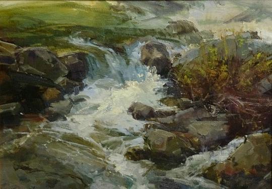 美国女画家凯瑟琳 · 西德茨写实风景油画作品欣赏 (组图)