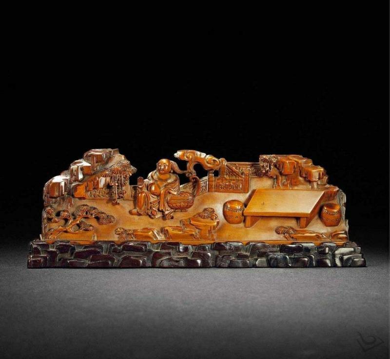 黄杨木雕的艺术之美(图)