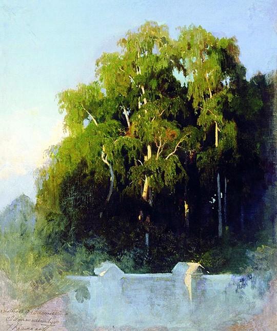 俄罗斯瓦西里耶夫风景油画作品欣赏 (组图)