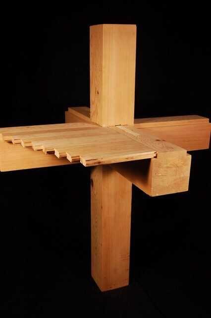榫卯结构也最  有效地利用了木材的特性