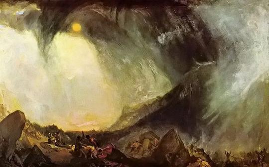 英国浪漫主义风景画家威廉·透纳作品欣赏(组图)
