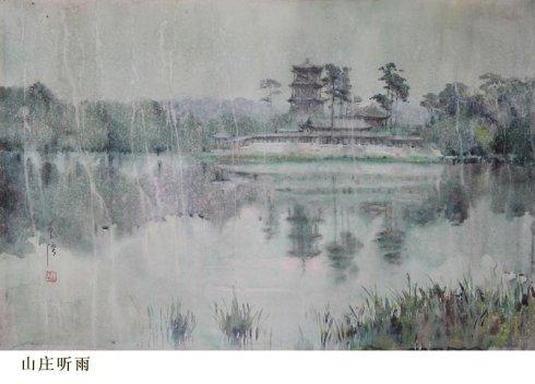 王信水彩画作品欣赏(组图)