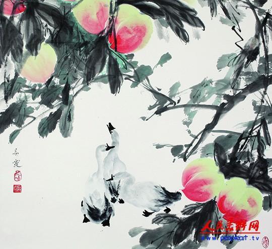 女画家王易霓国画作品欣赏