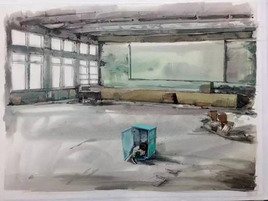 青年水彩画家白露洋作品欣赏(组图)
