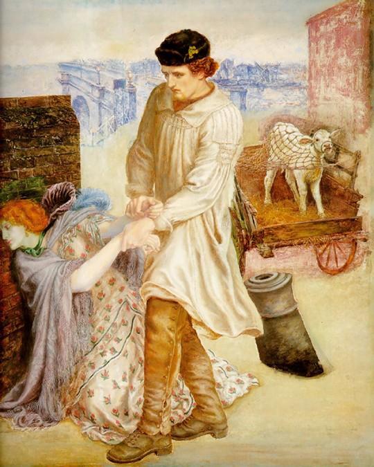 英国油画大师但丁·迦百利·罗塞蒂作品欣赏