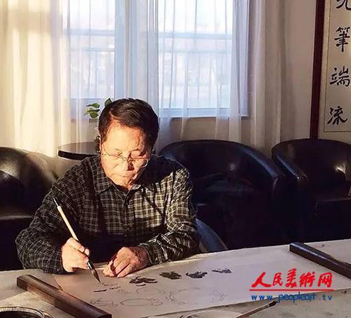 韩文来国画花鸟作品欣赏