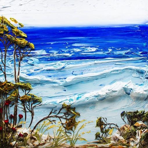 艺术家justin gaffrey的唯美立体风景油画作品欣赏(组图)