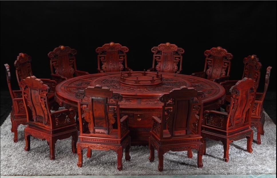 红木家具市场:这个夏天有点冷(图)